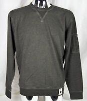 Alpha Industries Vintage Crew Neck Olive Gr.L Sweatshirt Basic Pullover Herren