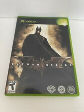 New listing Batman Begins (Microsoft Xbox, 2005)