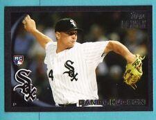 2010 Topps Black Daniel Hudson Rookie 4/59 White Sox
