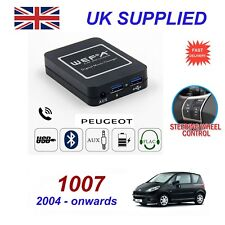 For Peugeot 1007 Music Streaming Bluetooth Telephone Charger SD AUX CD ModuleRD4