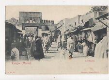 Tanger Maroc Le Marche North Africa Vintage U/B Postcard 909a