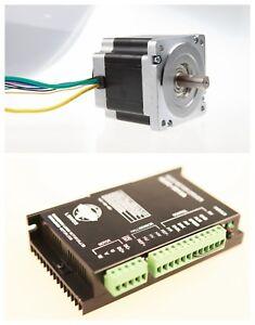 1axis Brushless DC Motor NEMA34 86BLF03 330W 48V 3000RPM +DC Driver BLDC-8015A
