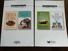 Readers Digest seleccionar tipo de ediciones Gran Lote De 2 Dick Francis Belva Plain