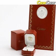 Cartier Solitaire Diamond Ring Platinum Pt950 D0.31 VS1 F VG Size.7  (570203)