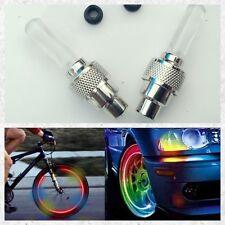 2 PC Ruota Pneumatico Luce Valvola Pneumatico Flash Flash PAC per Bicicletta, Automobile, motore