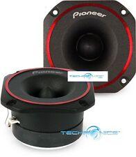 "PIONEER TS-B350PRO +2YR WARANTY 3.5"" HIGH EFFICIENCY PRO BULLET CAR TWEETERS"