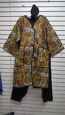 African Clothes/Clothing/Coat/Pantset Heavy Dashiki Unisex  MULTICOLOR-C45