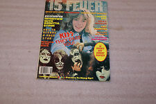 15 Fever Magaine Nov 1978 Issue no 2 Kiss Cover Interview