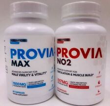 Provia Max Male Virility and Vitality Support and Provia NO2 Boost