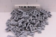 TCM Compatible Bricks Black Round Plate 2x2 Round Bottom Boat Stud QTY:100 pcs
