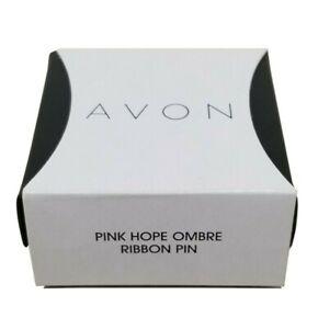 Avon Pink Hope Ombre - Ribbon Pin