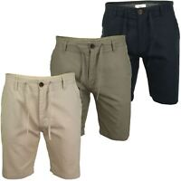 Mens Linen Mix Chino Shorts by Xact