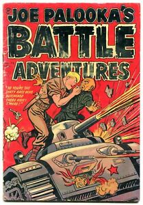 Joe Palooka's Battle Adventures #72 1952- Commies- Harvey comics-Hitler VG-