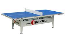 Tischtennisplatte wetterfest Sponeta outdoor S 6-67 e blau incl Netzgarnitur