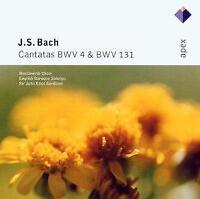John Eliot Gardiner & And English - J.S. Bach: Cantatas Bwv 4 & And 131 (NEW CD)