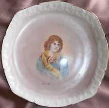 Assiette porcelaine XIXème à l'effigie du Roi de ROME fils de Napoléon Bonaparte