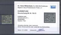 Braunschweig Mi.Nr. 10, 1-2 Groschen 1861 gestempelt, Befund BPP (32638)