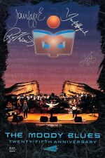 Moody Blues Autographed 25th Anniversary Limited Edition Lithograph