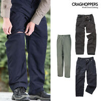Craghoppers Kiwi Convertible Trousers (CMJ107) - Water-repellent Trousers Shorts