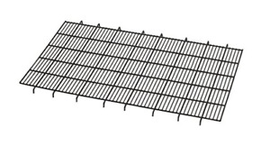 Floor Grid for Dog Crate   Elevated Floor Grid Fits MidWest Folding Metal Dog