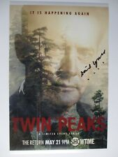 DAVID LYNCH SIGNED 11x17 PHOTO DC/COA ( TWIN PEAKS ) RARE