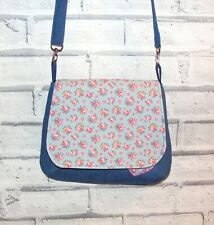 Hampton Rose Cath Kidston Fabric Handmade Bag, Across body / shoulder bag