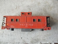 Vintage 1950s HO Scale Reading 131 Lighted Caboose Body Look