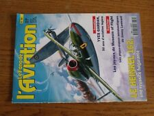 $$$ Revue Fana de l'aviation N°331 Heinkel 162  Yaves Gardan  Jimmy Leeward
