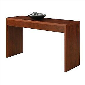 Cherry Finish Sofa Table Modern Living Room Console Table, Also Hallway&Entryway