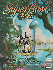 MIKE HOLMGREN Green Bay Packers SIGNED Super Bowl XXXI Game Program