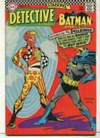 """Detective Comics- Batman #358 FN+ """"Introducing The Spellbinder"""" DC Comics  SA"""