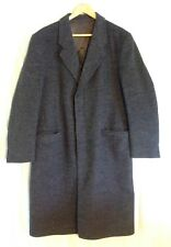 ORDERMARK, EDM. WUNSCH, CROMBIE 100% Virgin Wool German Top Coat Men Size 42