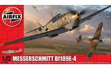 Airfix Messerschmitt Bf109E-4 1:72 Scale Plastic Model Plane A01008A