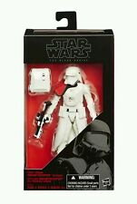 "EXCLUSIVE STAR WARS THE BLACK SERIES FIRST ORDER SNOWTROOPER OFFICER 6"" FIGURE"
