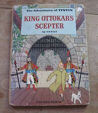 TINTIN - KING OTTOKAR'S SCEPTER - 1st US edition HC 1959 HERGE - Golden Press