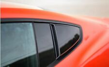 2015-2019 Mustang Coupe Roush 421881 Side Quarter Window Scoops Black Pair LH RH