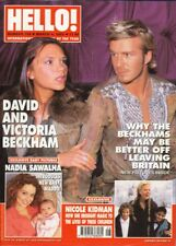 VICTORIA BECKHAM - DAVID BECKHAM - TOM JONES - Vintage HELLO! Magazine 2003
