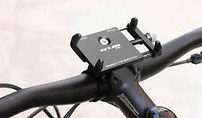 Universal Bicycle Phone Mount Mobile Holder Bike Motorcycle Handlebar Clip Black