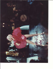 LESLEY ANN WARREN BURLESQUE PINK SIGNED PHOTO AUTOGRAPHED W/COA 8X10