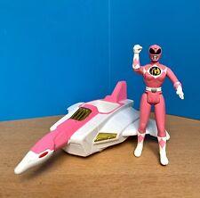 Vintage Saban 1995 Mighty Morphin Power Rangers Pink Crane Ninjazord TCFFC