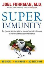 Super Immunity Nutrition Guide Joel Fuhrman FREE SHIPPING Hardcover book