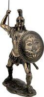 Ancient Greek King Trojan War Hero Ajax (Cold Cast Bronze Statue 26cm / 10.23')
