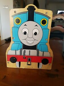 Thomas The Train Wooden Carry-On Case Holder With Handle 2007