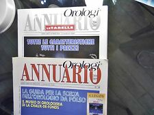 ANNUARIO DI OROLOGI LE MISURE DEL TEMPO 2004-2005 + tabelle