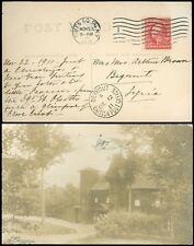 1911 Times Sq NY CDS, PPC, Foreign Dest'n to BEYROUT SYRIA (BEIRUT) BRITISH PO!