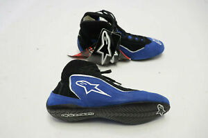 ALPINESTARS SP Racing Shoes Mid Top FIA SFI 3.3/5 Blue 2015 Euro Race Boot NEW