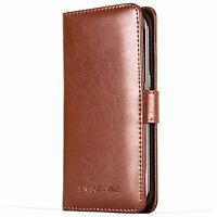 Snakehive® Samsung Galaxy S7 Edge Leather Folio Wallet Flip Case w/Card Slots