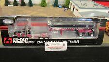 DCP#32763 JAKE TRANSPORT PETE 379 SEMI TRUCK&MAC ROUND END DUMP TRAILER 1:64/CL