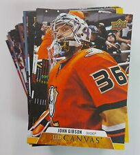 2020-21 Upper Deck Series 2 Hockey CANVAS Inserts (Pick Your Own) 1:7