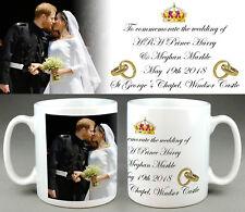Prince Harry Meghan Markle ROYAL WEDDING Kiss Commemorative Mug #9 Cup Tribute